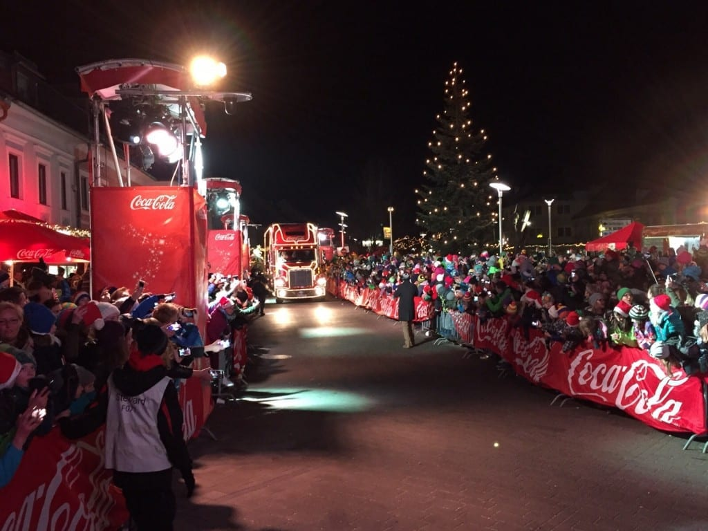 Coca Cola Weihnachtstruck Tour