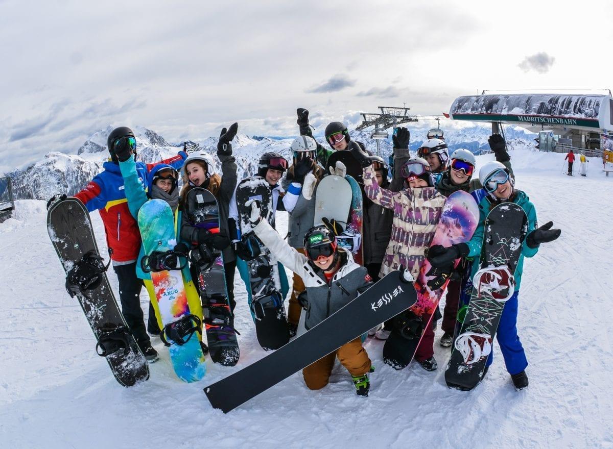 ÖBB S'COOL – Die Wintersportwoche 2017 - Foto by Johann Paul Schmidt Photography www.jp-schmidt.at