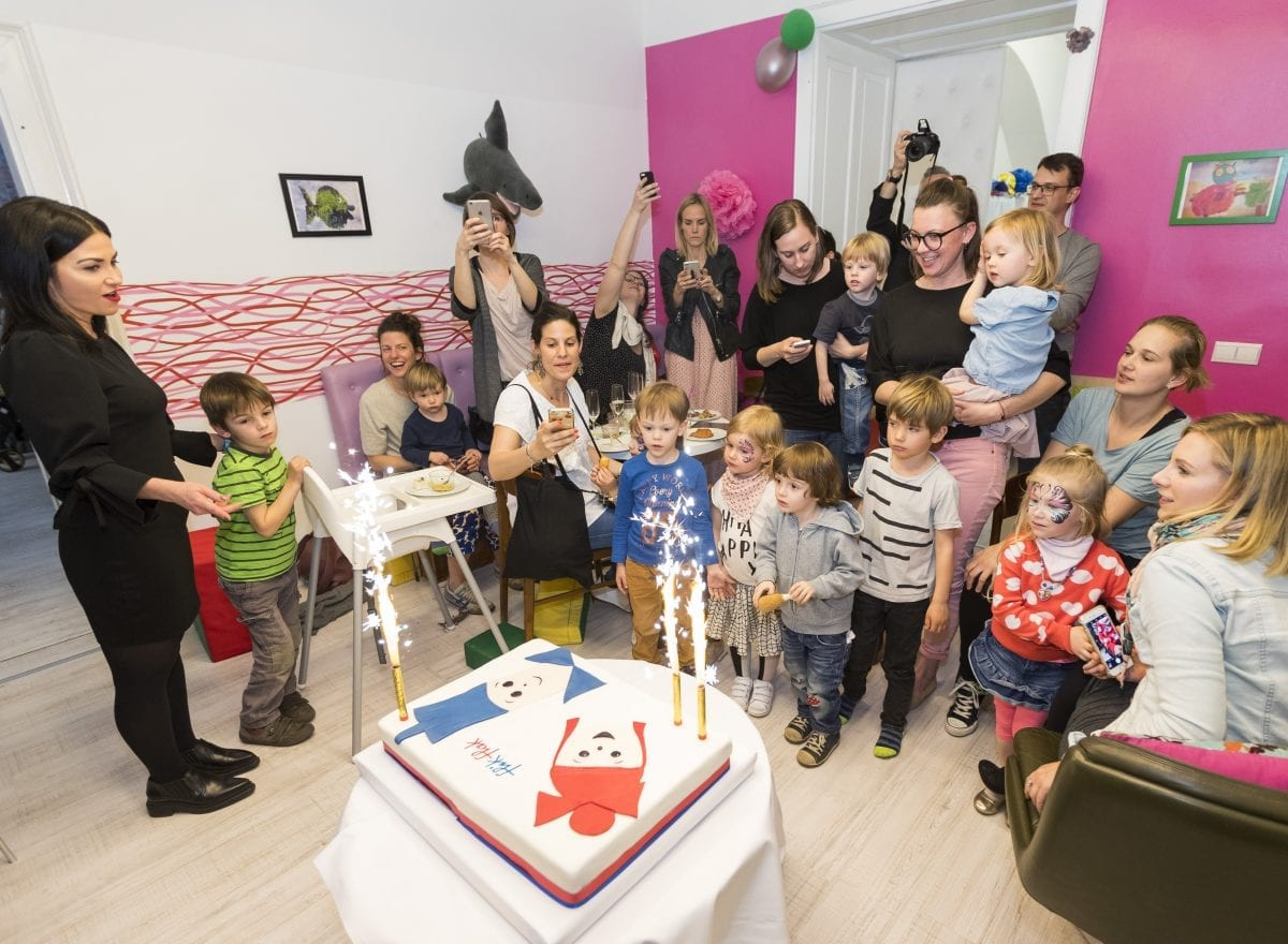 Flik Flak Geburtstagsfeier