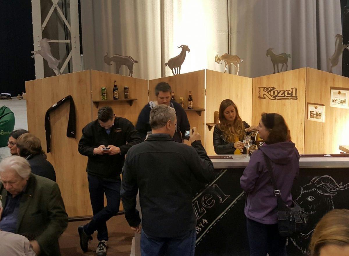 Kozel am Craft Bier Fest