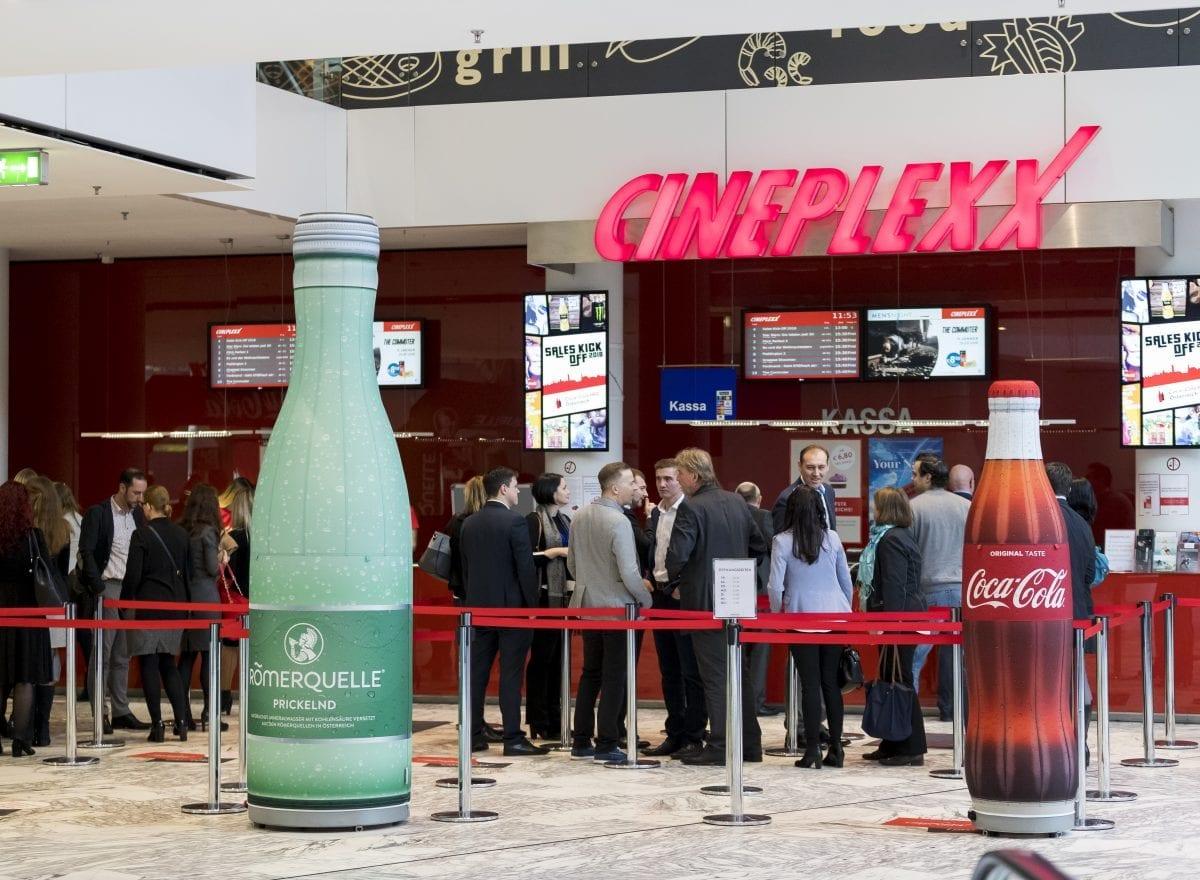 Coca-Cola Sales Kick-Off 2018 - Empfang im Cineplexx