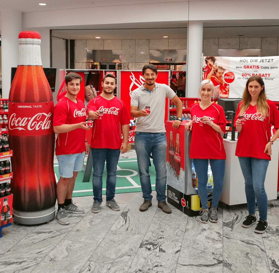 Coca-Cola FIFA WM Mall Activation