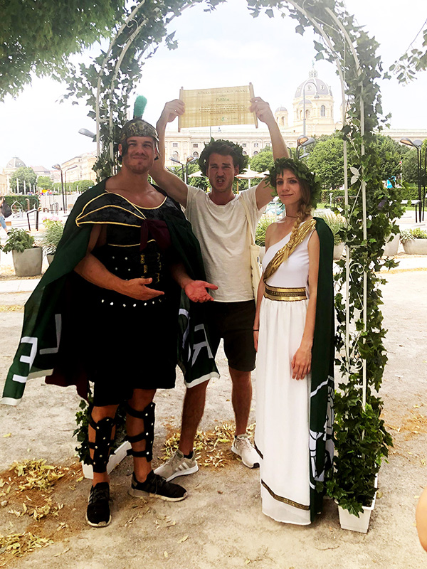 Römerquelle Recycling Hero Promotion