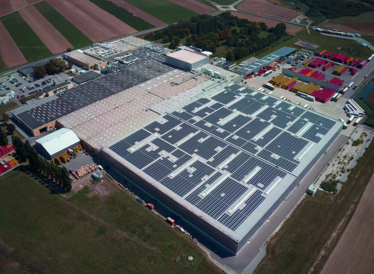 Eröffnung Photovoltaikanlage Coca-Cola HBC