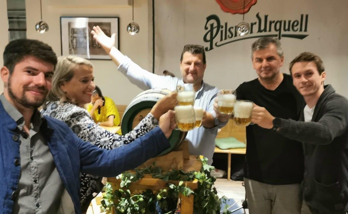 Pilsner Urquell: Holzfass Event